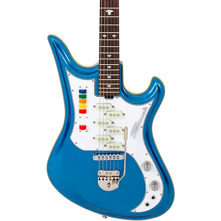 EastwoodSpectrum 5 Pro Electric GuitarMetallic Blue