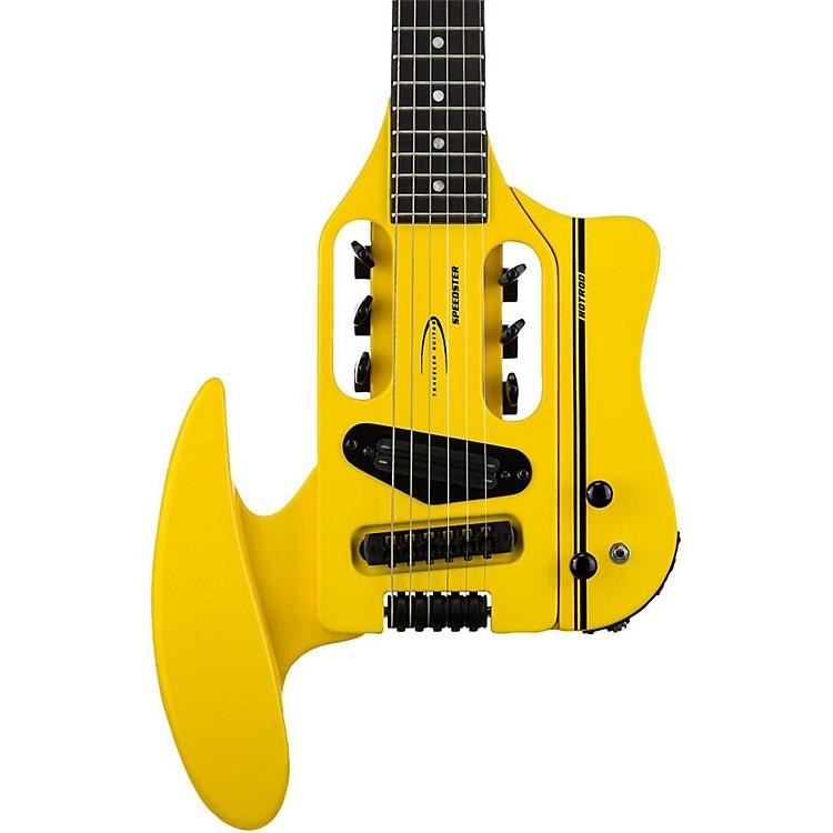 Traveler GuitarSpeedster Hot Rod Electric Travel GuitarYellow