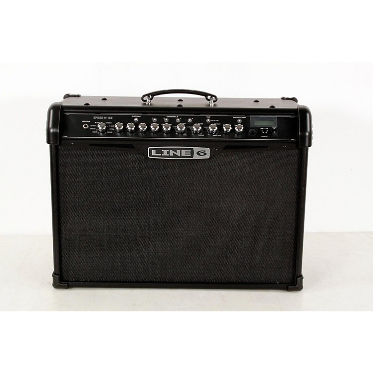 Line 6 Spider IV 120 120W 2x10 Guitar Combo Amp Black 888365910857