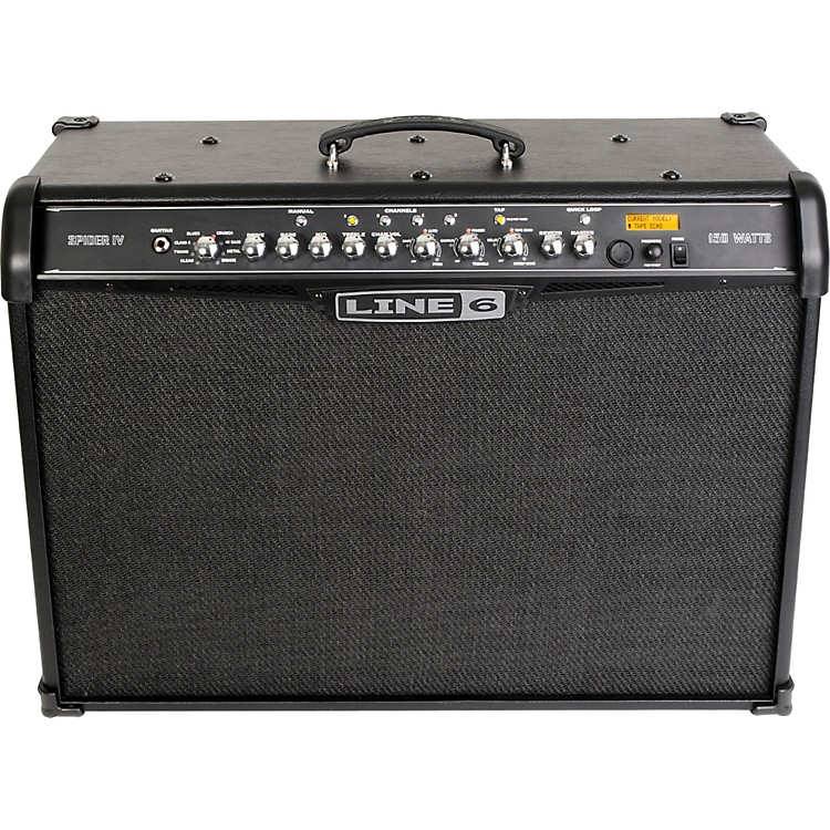 Line 6 Spider IV 150 150W 2x12 Guitar Combo Amp Black