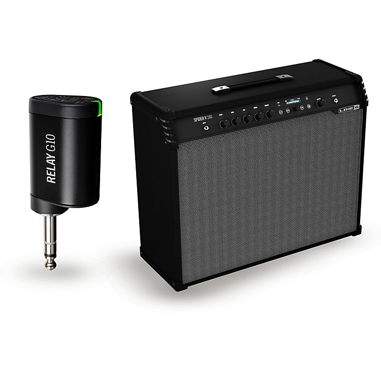 Line 6Spider V 240 240W 2x12 Guitar Combo Amp and G10T Wireless Transmitter