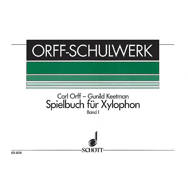 SchottSpielbuch für Xylophone - One Player (German Text) Composed by Gunild Keetman