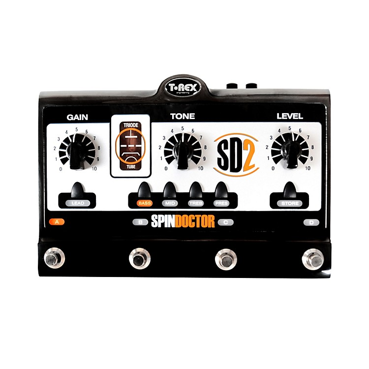 T-Rex Engineering SpinDoctor 2 Overdrive Preamp Guitar Effects Pedal Regular 888365917085