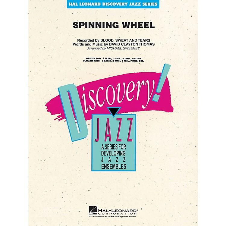 Hal LeonardSpinning Wheel Jazz Band Level 1-2 by Blood, Sweat & Tears Arranged by Michael Sweeney