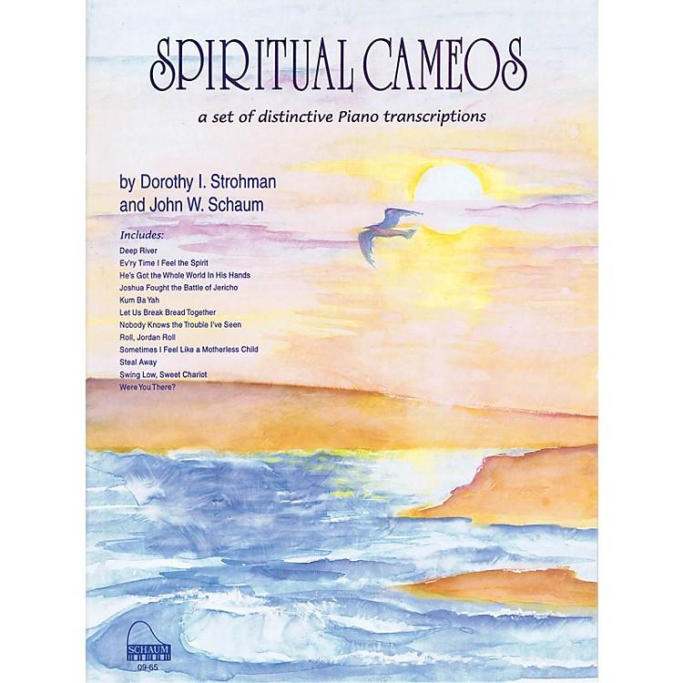SCHAUMSpiritual Cameos Educational Piano Series Softcover