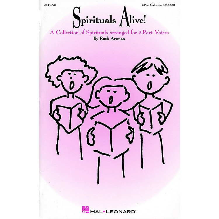 Hal Leonard Spirituals Alive! (Collection) 2-Part arranged by Ruth Artman