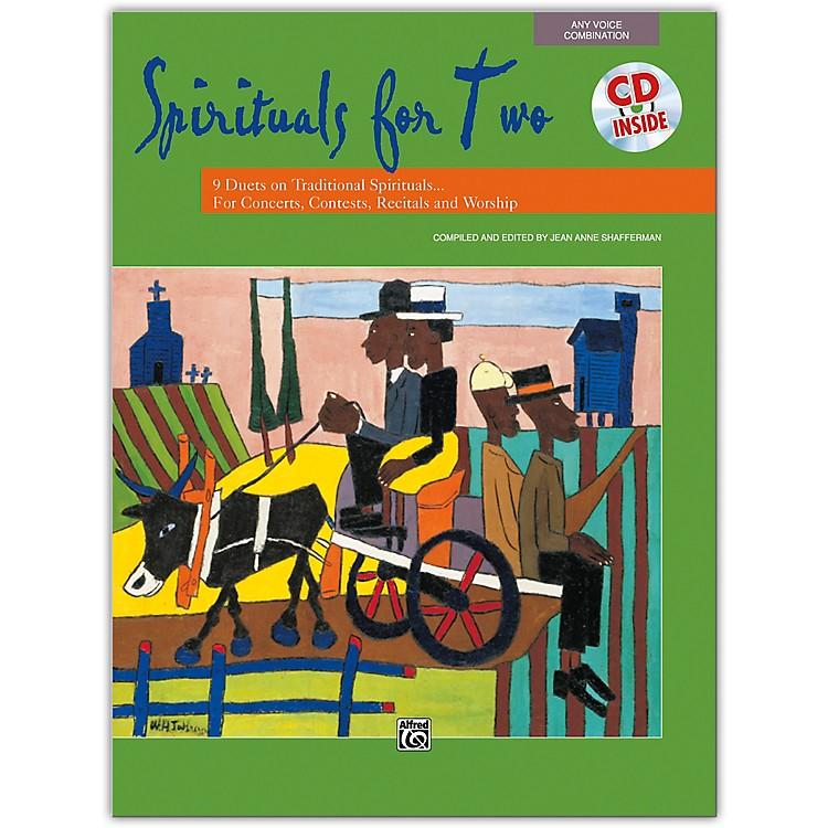 AlfredSpirituals for Two Book & Acc. CD