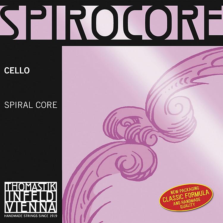 ThomastikSpirocore 4/4 Size Weich (Light) Gauge Cello Strings4/4Weich G String, Tungsten
