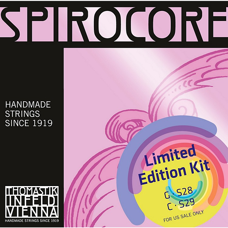 Thomastik Spirocore Cello Chrome G&C Value Pack