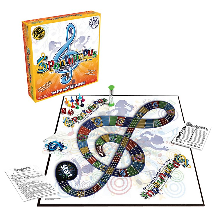 Hal Leonard Spontuneous Board Game - Where The Lyrics Come To Life