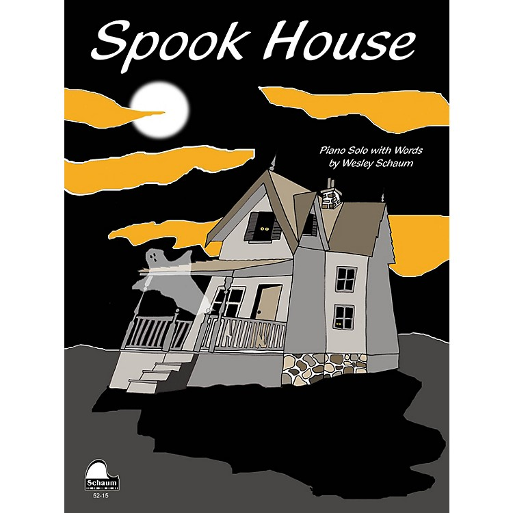 SCHAUM Spook House Educational Piano Series Softcover