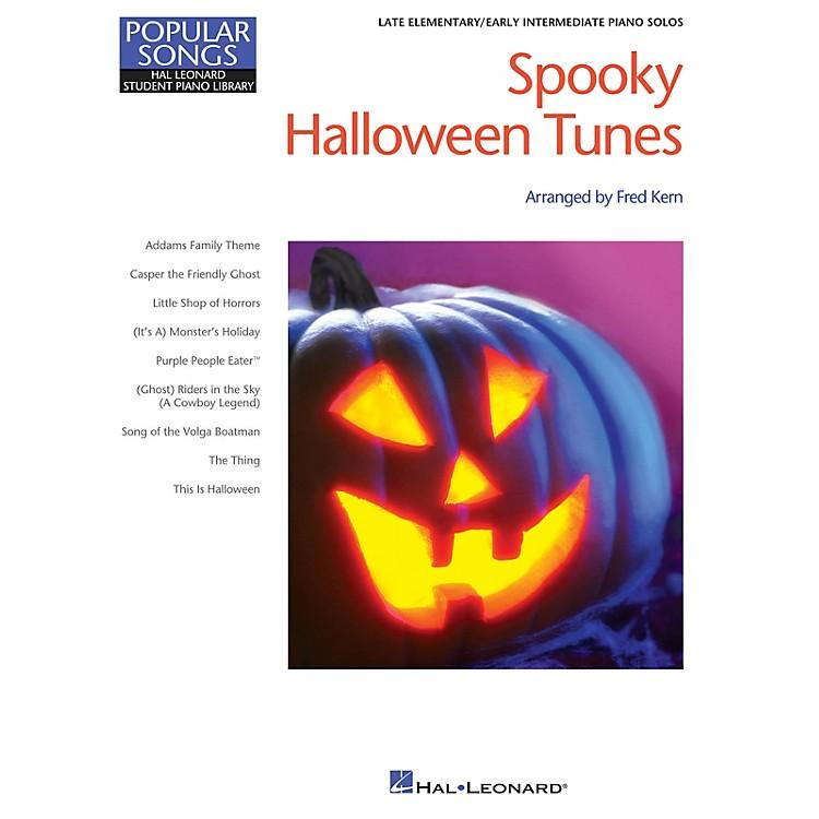 Hal LeonardSpooky Halloween Tunes Piano Library Series Book (Level Late Elem)