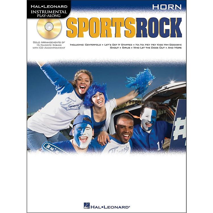 Hal LeonardSports Rock for French Horn - Instrumental Play-Along Book/CD Pkg
