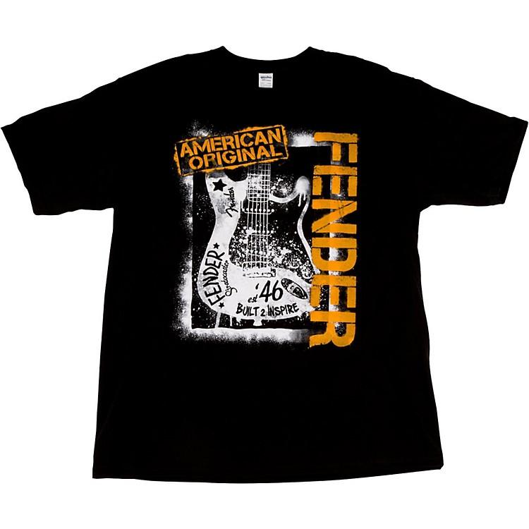 FenderSpraypaint Graffiti T-ShirtBlackLarge