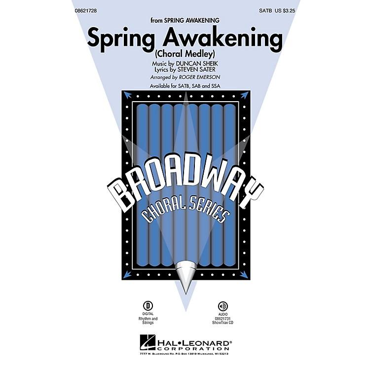 Hal LeonardSpring Awakening (Choral Medley) ShowTrax CD Arranged by Roger Emerson