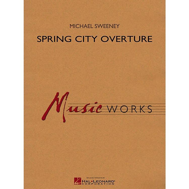 Hal LeonardSpring City Overture Concert Band Level 4