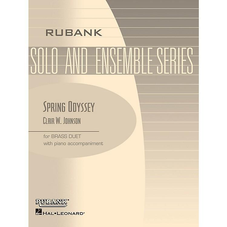 Rubank PublicationsSpring Odyssey (Brass Duet with Piano - Grade 3) Rubank Solo/Ensemble Sheet Series Book