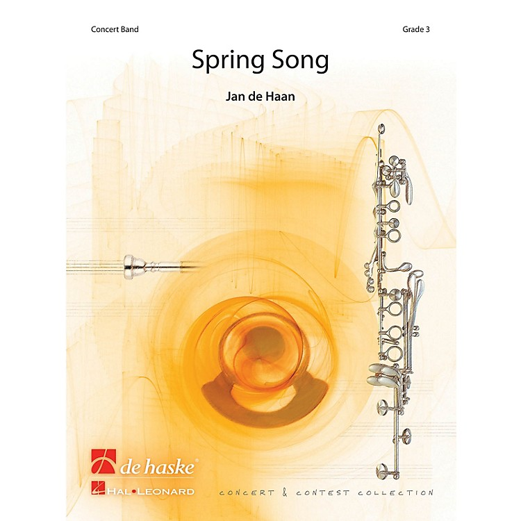 De Haske MusicSpring Song Concert Band Level 4 Composed by Jan de Haan