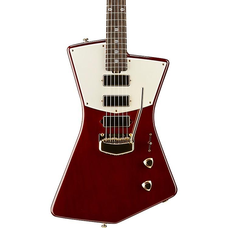 Ernie Ball Music ManSt. Vincent Signature Gold Hardware Electric GuitarHeritage Red