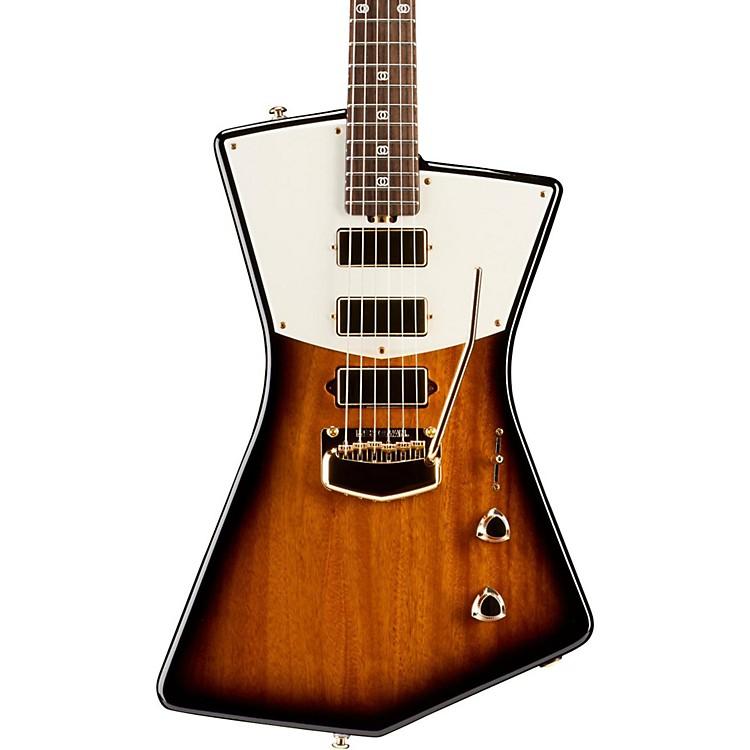 Ernie Ball Music ManSt. Vincent Signature Gold Hardware Electric GuitarTobacco Sunburst