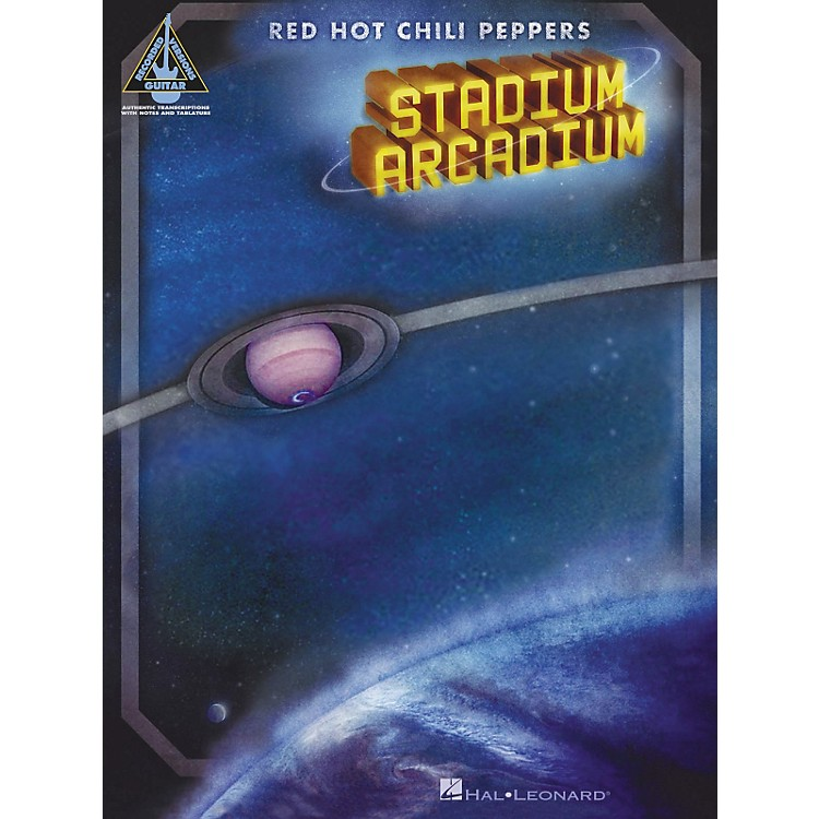 Hal LeonardStadium Arcadium Red Hot Chili Peppers Guitar Tab Songbook