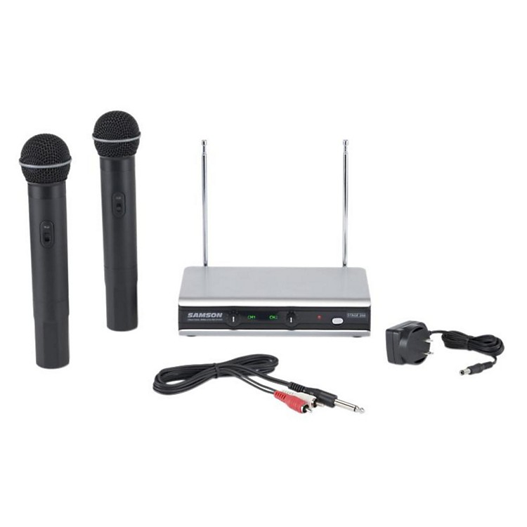 SamsonStage 266 Dual Handheld Wireless SystemBand 3 and 21888365766119