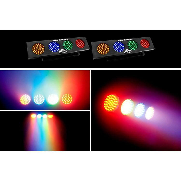 CHAUVET DJStage Bank Stage Lighting System w/Stands