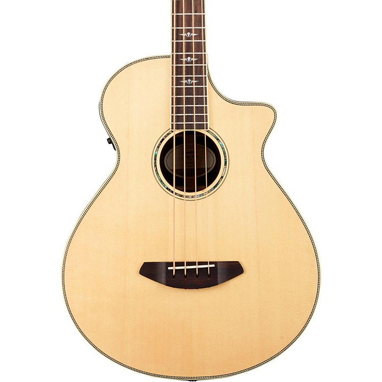 Breedlove Stage Bass Acoustic-Electric Bass Guitar Natural