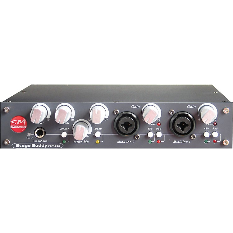 SM Pro Audio Stage-Buddy Personal Monitor Mixer