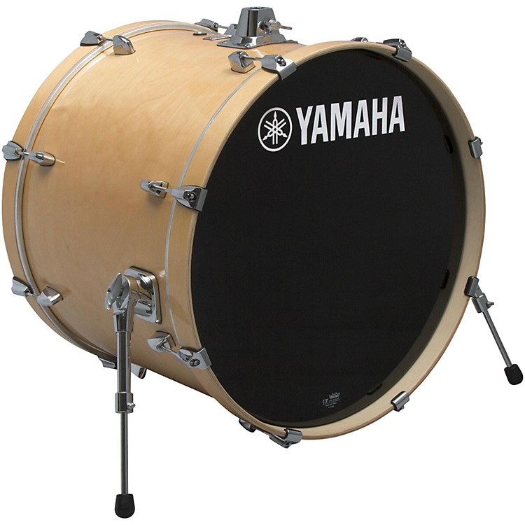 Yamaha Stage Custom Birch Bass Drum 24 x 15 in. Natural Wood