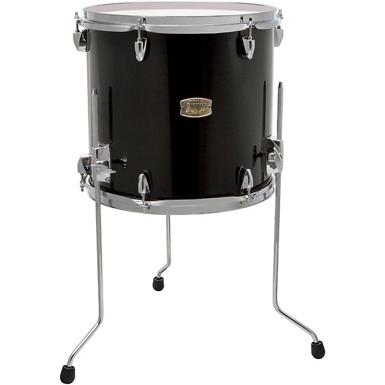 Yamaha Stage Custom Birch Floor Tom 14 x 13 in. Raven Black