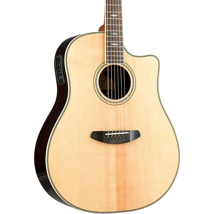 Breedlove Stage Dreadnought Acoustic Electric Guitar Natural 190839033208