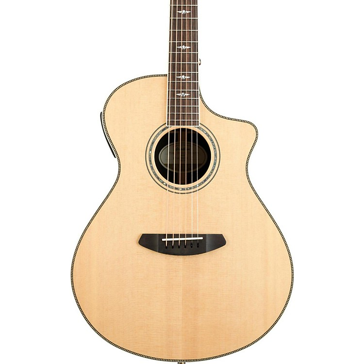 BreedloveStage Exotic Concert CE Sitka Spruce - Ziricote Acoustic-Electric GuitarGloss Natural