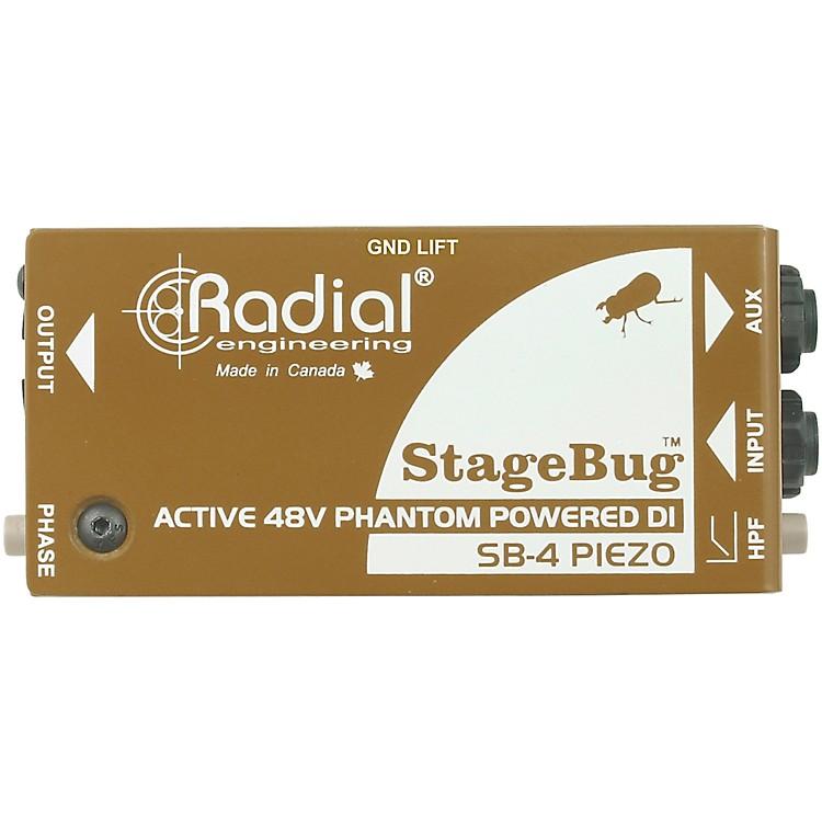 Radial EngineeringStageBug SB-4 Compact Active Piezo DI