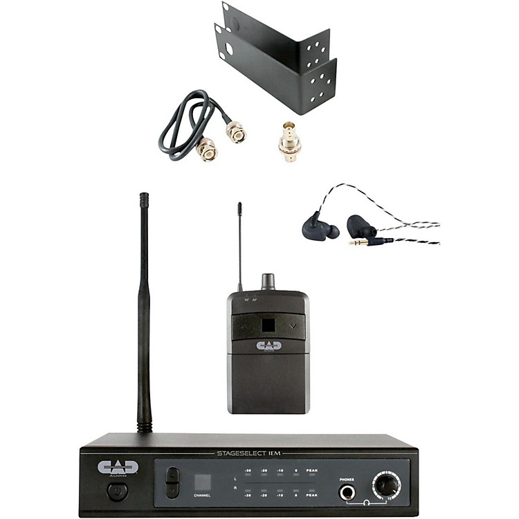 CAD StageSelect IEM StagePass IEM Stereo Wireless In Ear System