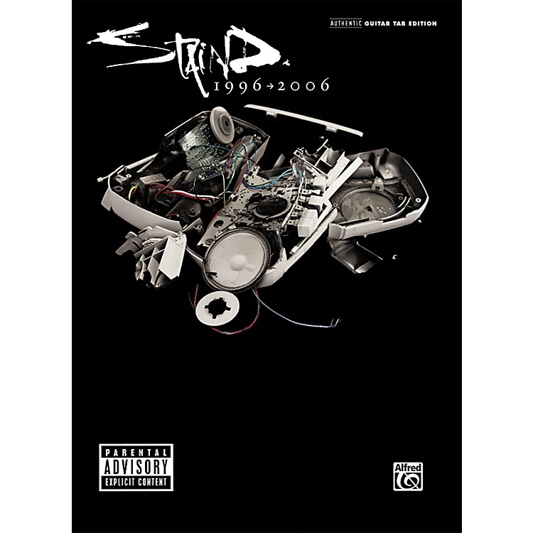 AlfredStaind - The Singles 1996-2006 Guitar Tab Songbook