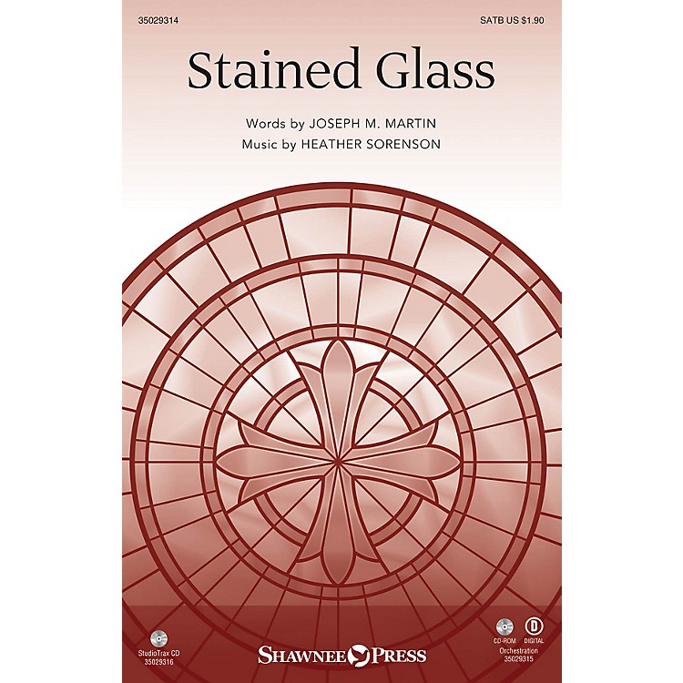 Shawnee PressStained Glass (Orchestration) Instrumental Accompaniment Composed by Joseph M. Martin