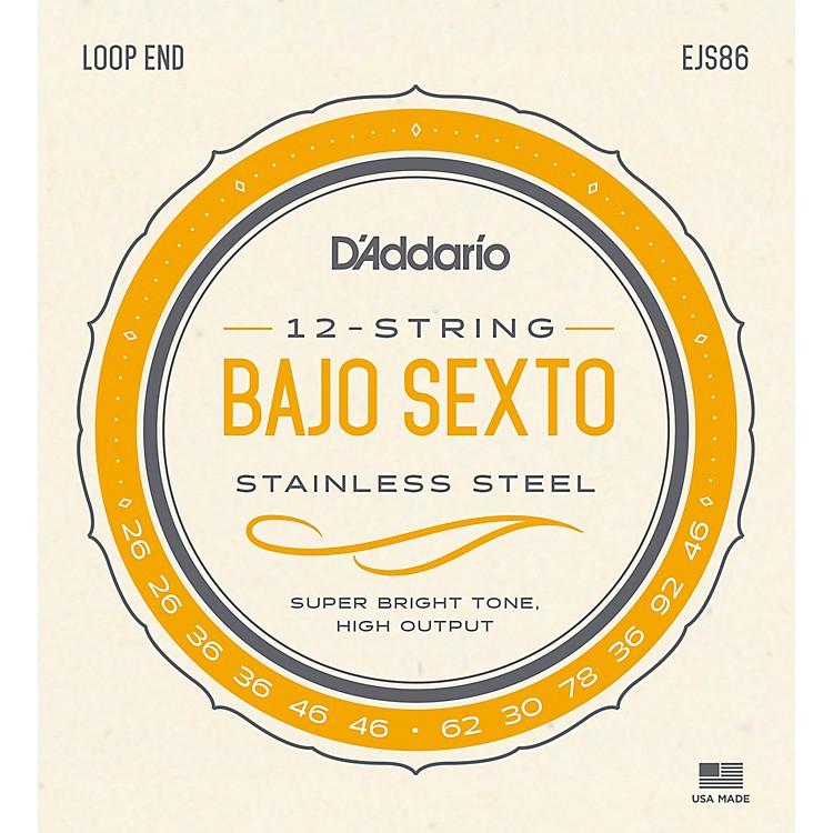 D'AddarioStainless Steel Bajo Sexto String Set