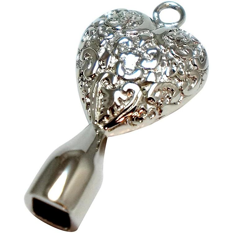 Dojo Drum KeysStainless Steel Drum KeySolid Filigree Heart