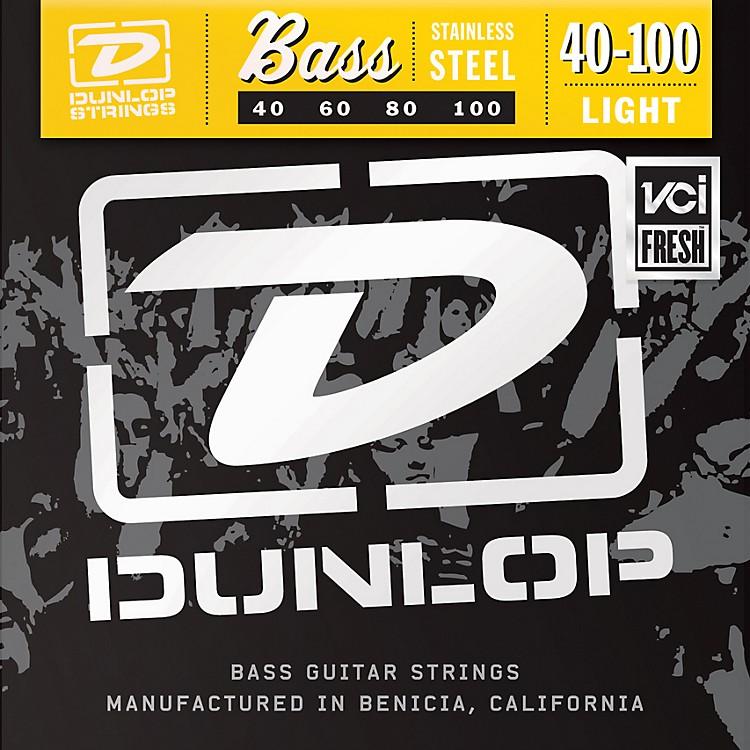 DunlopStainless Steel Light Bass Strings