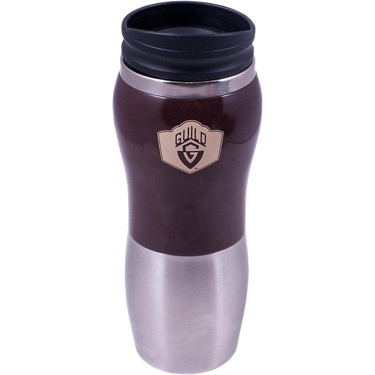 Guild Stainless Travel Mug Brown