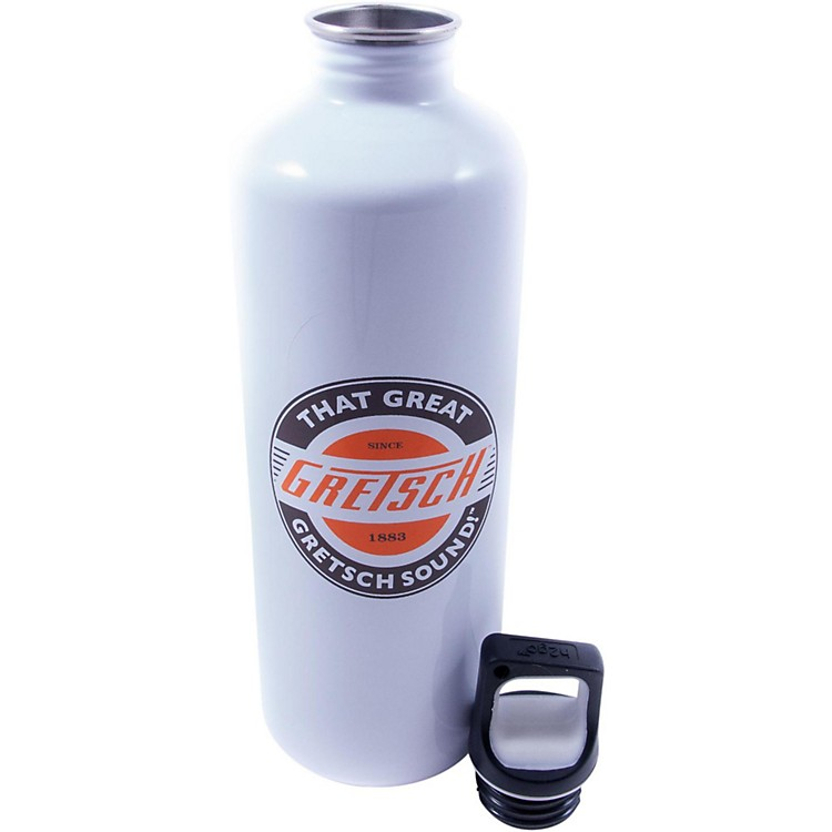 GretschStainless Water BottleWhite24 Ounce