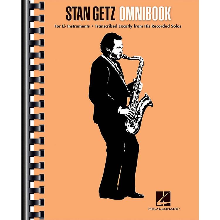 Hal LeonardStan Getz - Omnibook For E-flat Instruments