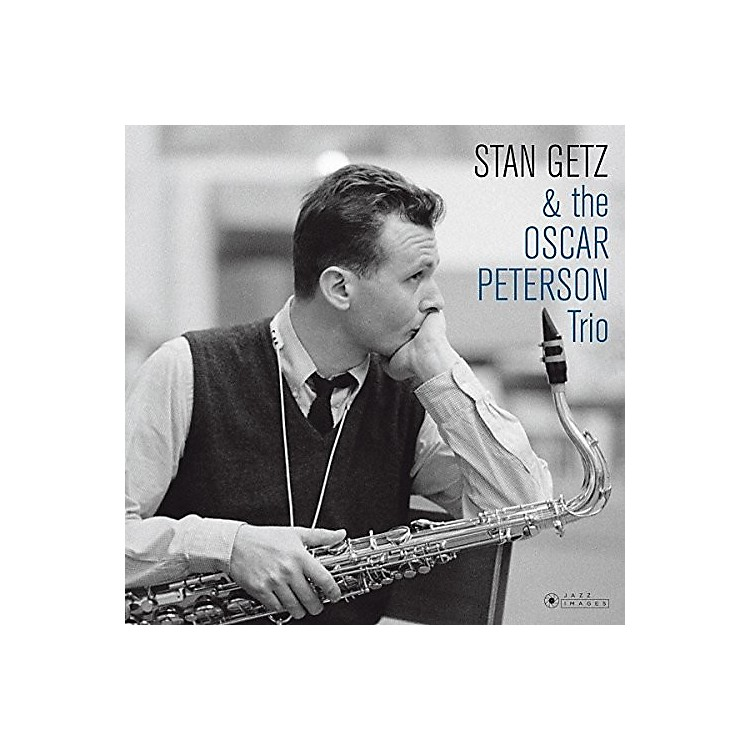 Alliance Stan Getz - Stan Getz & The Oscar Peterson Trio (Cover Photo By Jean-PierreLeloir)