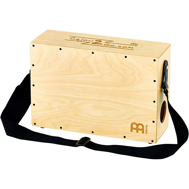 MeinlStand Up Cajon with Internal Snares and Shoulder Strap
