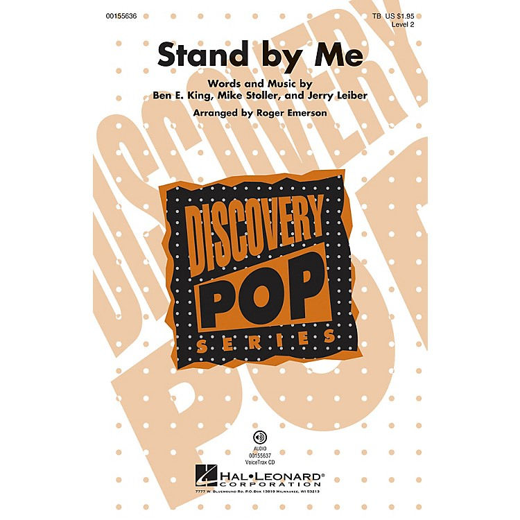 Hal Leonard Stand by Me (Discovery Level 2) TB arranged by Roger Emerson
