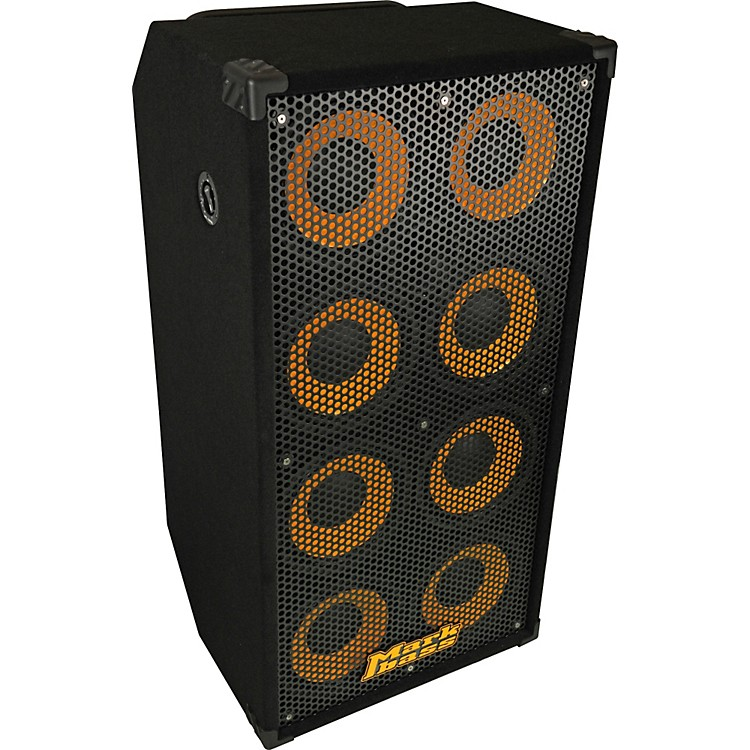 Markbass Standard 108HR 1200W 8x10 Bass Speaker Cabinet Black 4 Ohm