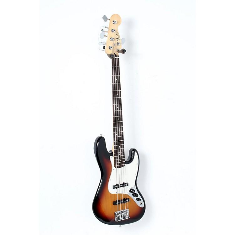 FenderStandard 5-String Jazz Bass GuitarBrown Sunburst, Rosewood Fretboard888365899695