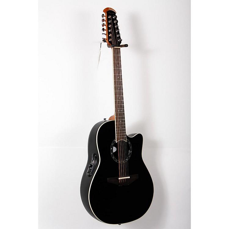 OvationStandard Balladeer 2751 AX 12-String Acoustic-Electric GuitarBlack888365805085