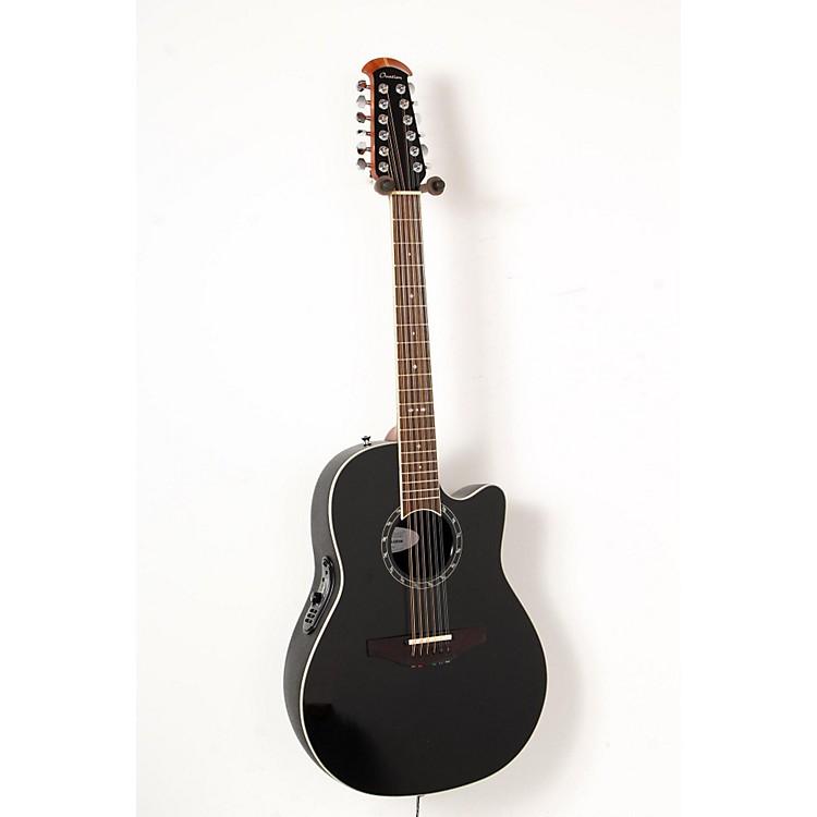 OvationStandard Balladeer 2751 AX 12-String Acoustic-Electric GuitarBlack888365851600